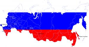 Карта РОССИИ дистанц